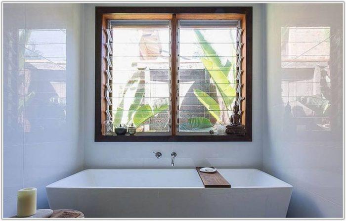 High Gloss White Bathroom Floor Tiles