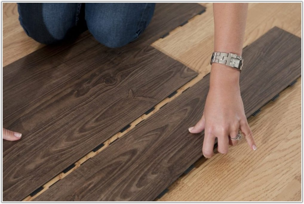 Installing Click Vinyl Tile Flooring