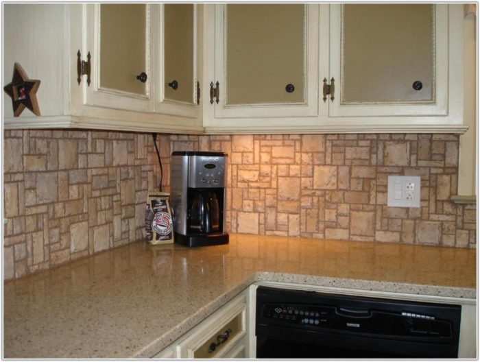 Kitchen Backsplash Stone Tile Ideas