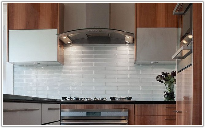 Kitchen Backsplash Tile Ideas Subway Glass