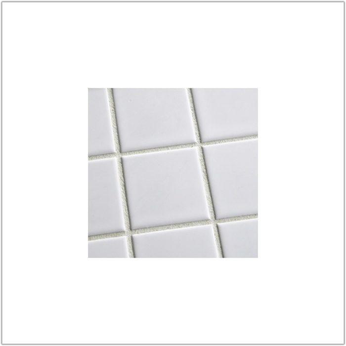 Large White Gloss Floor Tiles
