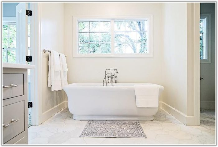 Large White Marble Bathroom Tiles