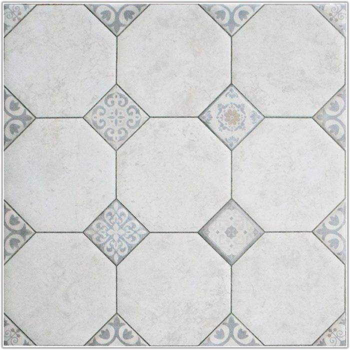 Large White Polished Floor Tiles