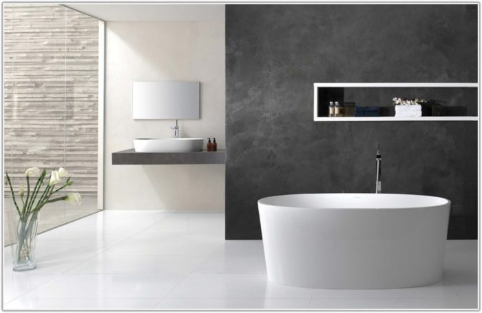 Large White Tiles For Bathroom Wall