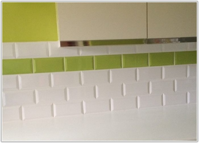 Lime Green Metro Wall Tiles
