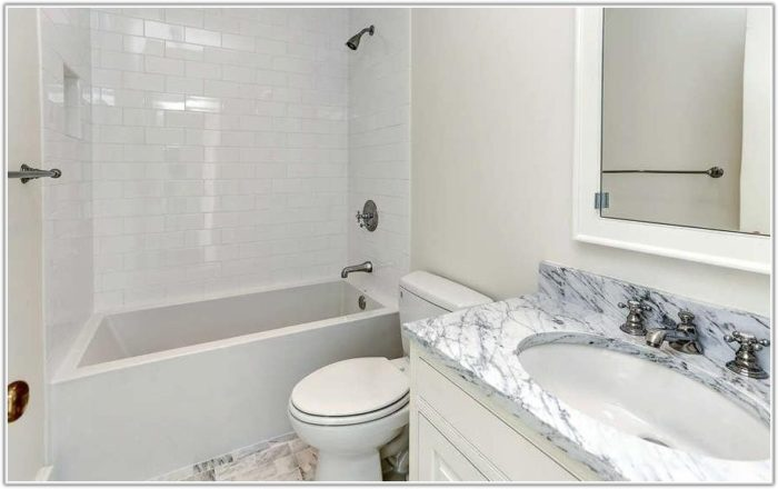 Marble Subway Tile Bathroom Ideas