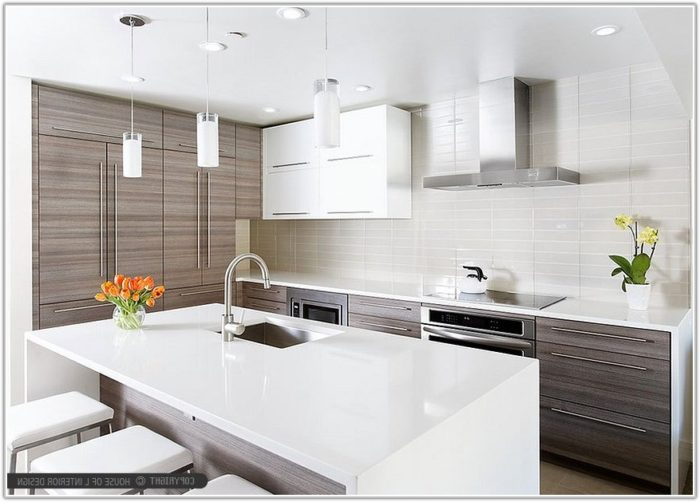Modern Kitchen Backsplash Glass Tile