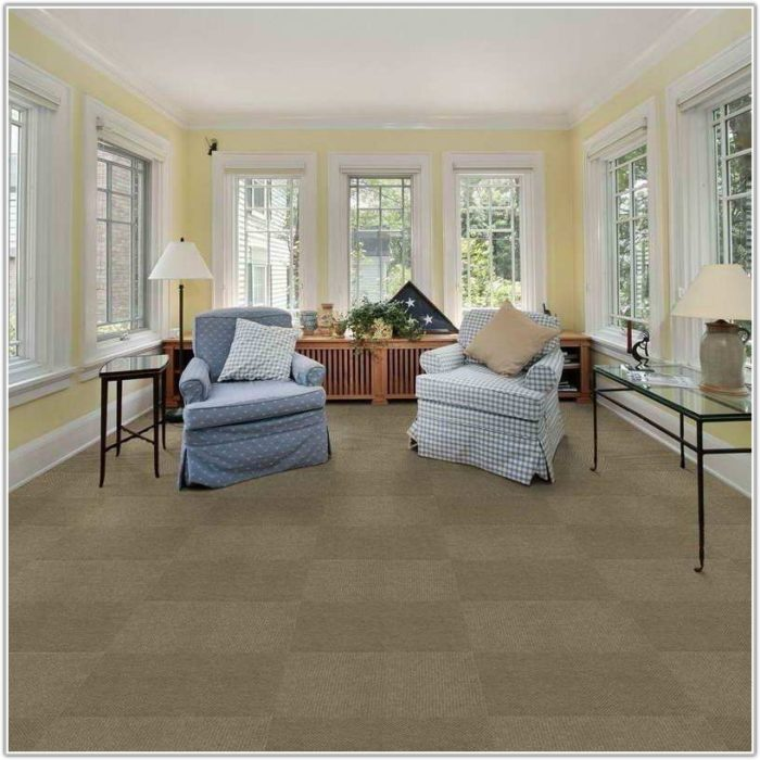 Modular Carpet Tiles For The Home