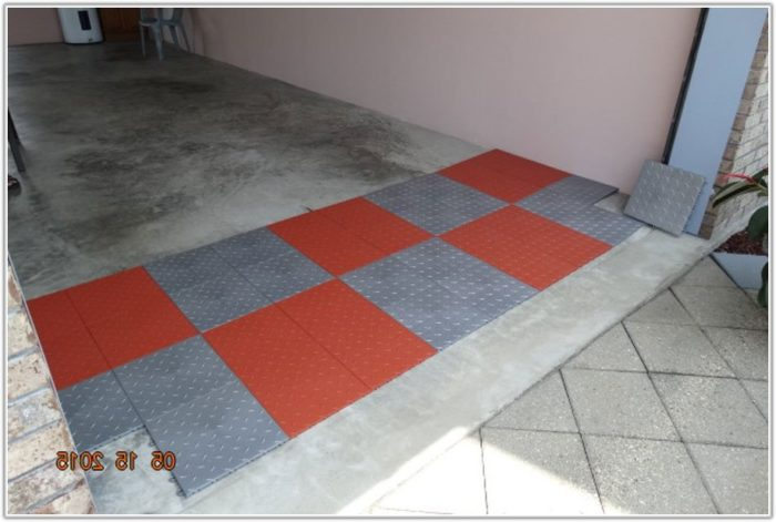 Modular Interlocking Garage Floor Tiles