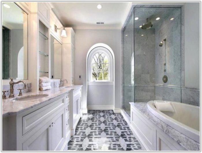 Mosaic Bathroom Floor Tile Ideas