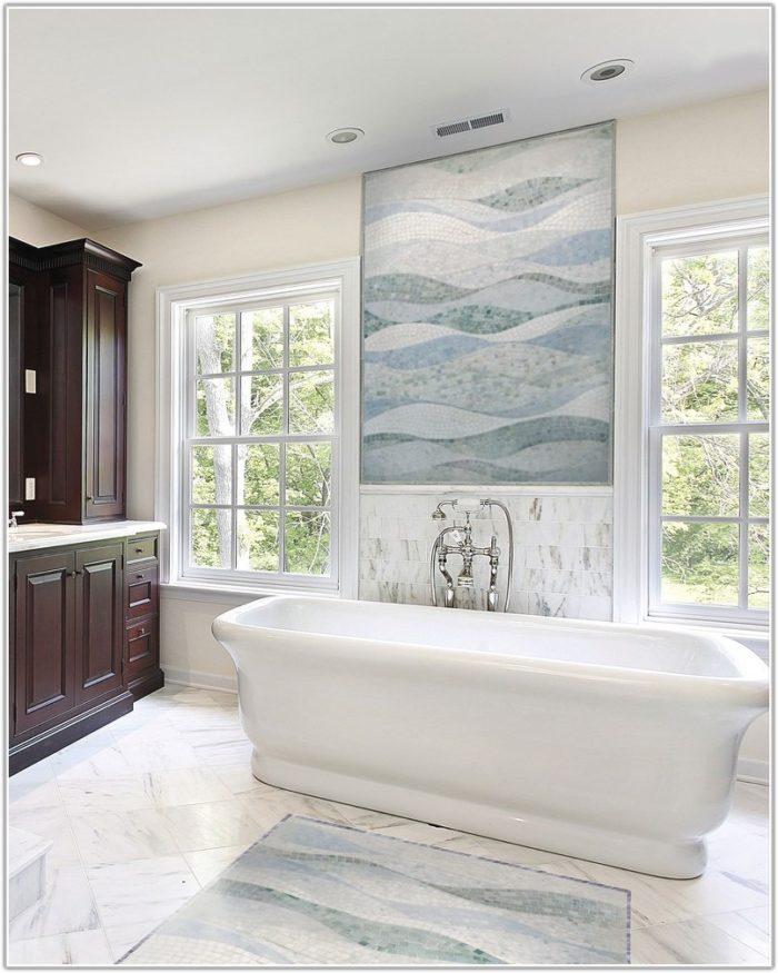 Mosaic Tile Patterns Bathroom Floor