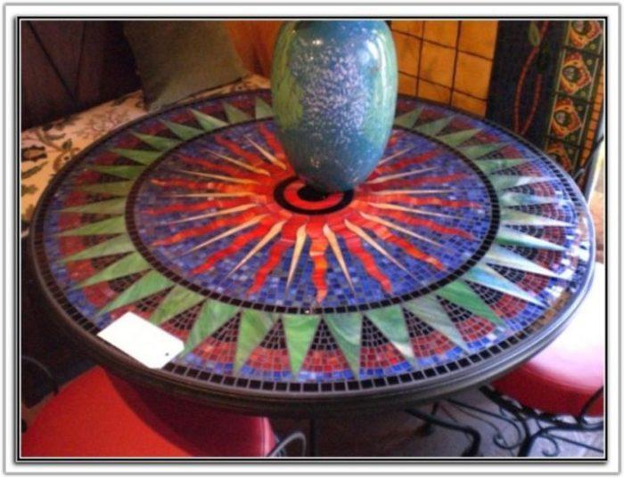 Mosaic Tile Table Top Ideas