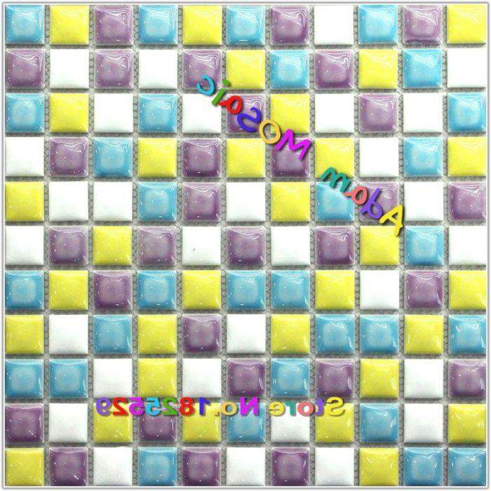 Multi Color Glass Mosaic Tile