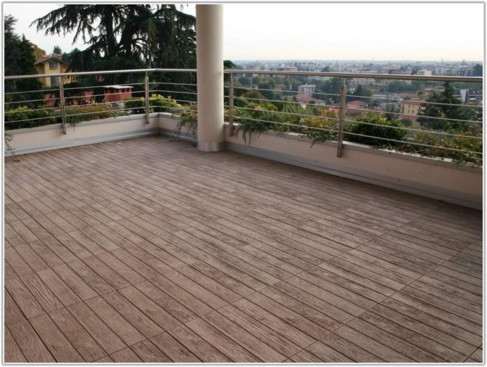 Outdoor Wood Effect Floor Tiles