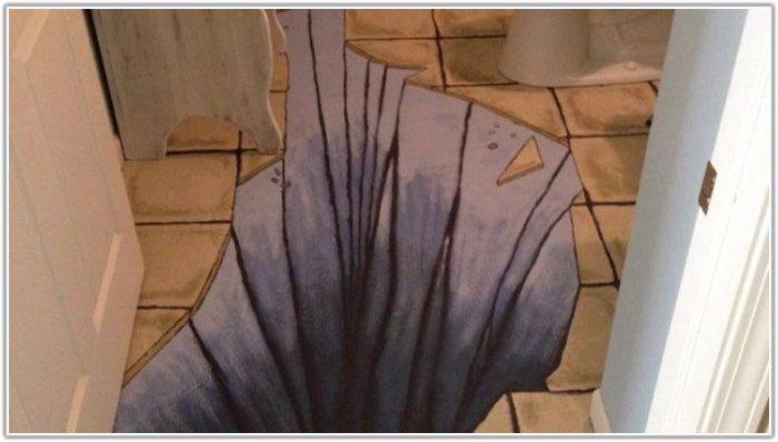 Painting Ceramic Bathroom Floor Tiles