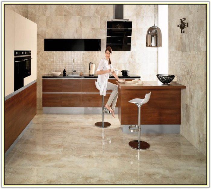 Painting Ceramic Floor Tiles In Kitchen
