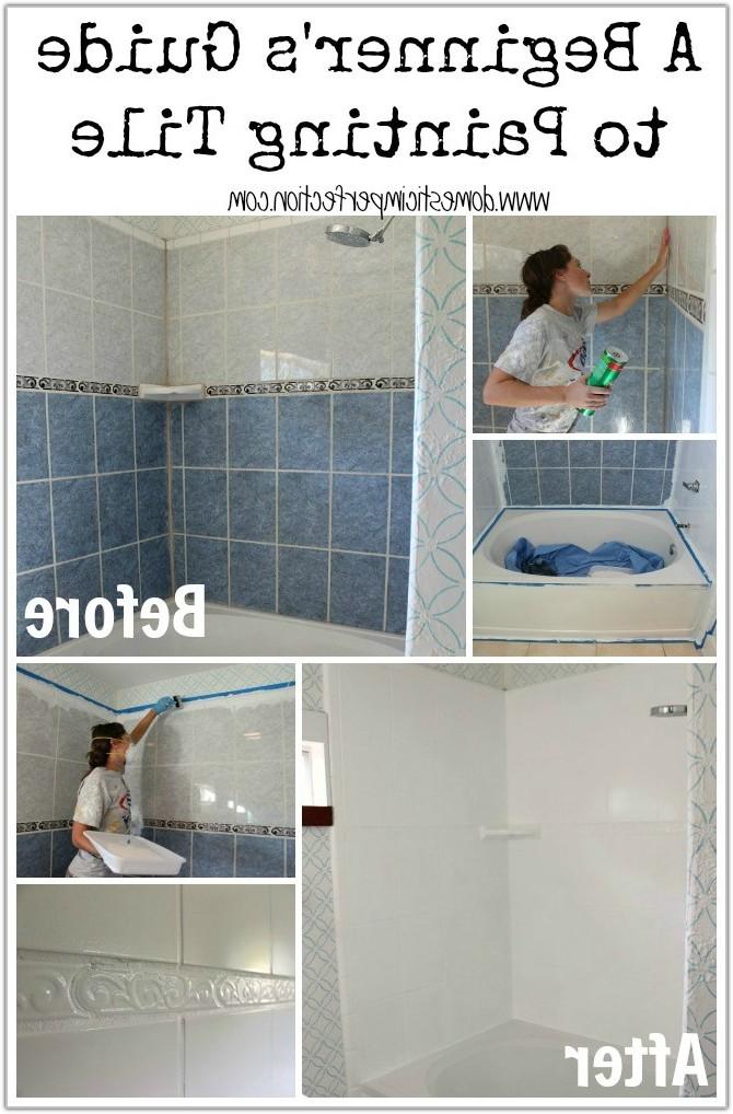 Painting Ceramic Tile Bathroom Walls