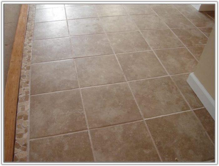 Painting Ceramic Tile Floor In Bathroom