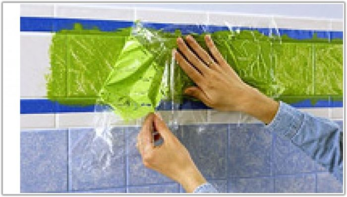 Painting Ceramic Wall Tiles In Kitchen