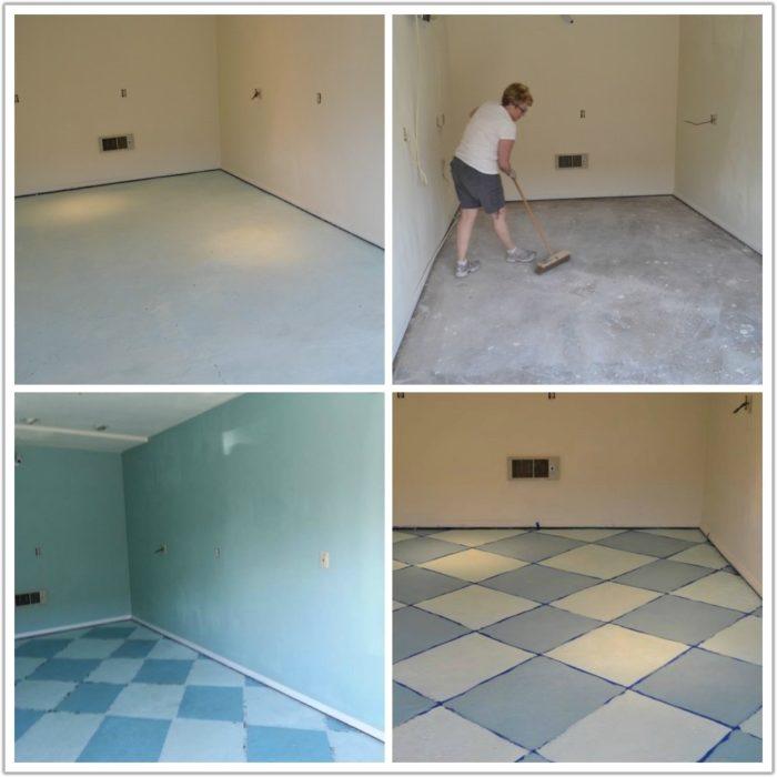 Painting Kitchen Floor Ceramic Tile
