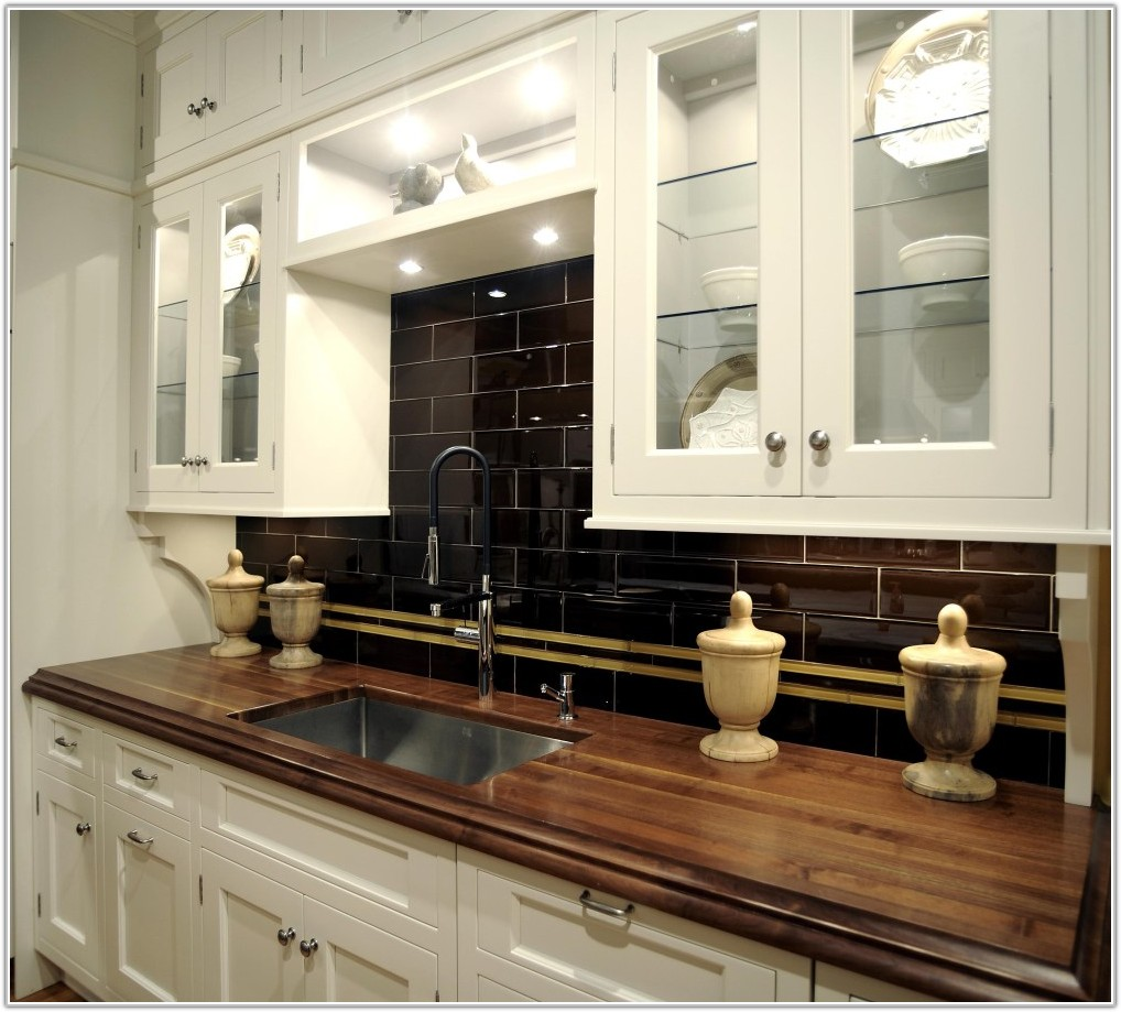 Polished Porcelain Tile Kitchen Countertops