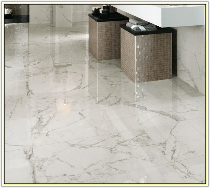 Polished Porcelain Tile That Looks Like Marble