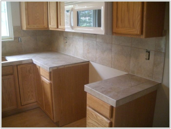 Porcelain Tile For Kitchen Countertops