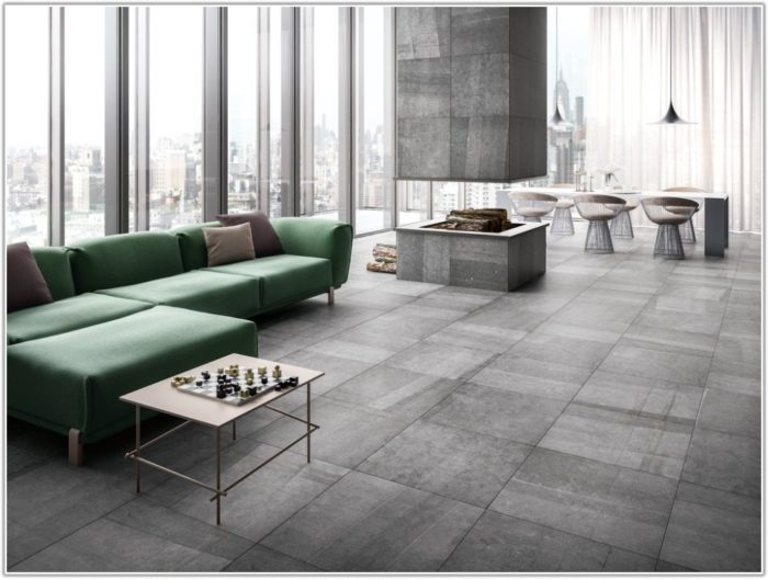 Porcelain Tile Looks Like Stone