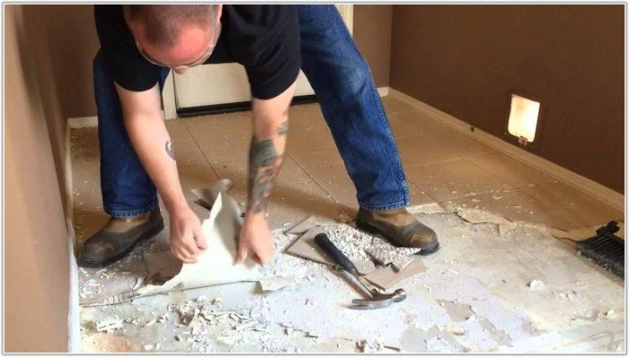 Remove Floor Tile Adhesive Concrete