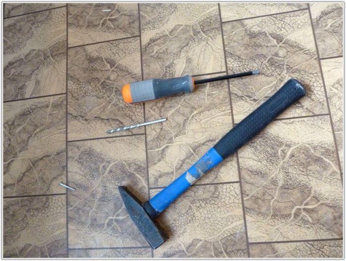 Remove Vinyl Floor Tiles Concrete