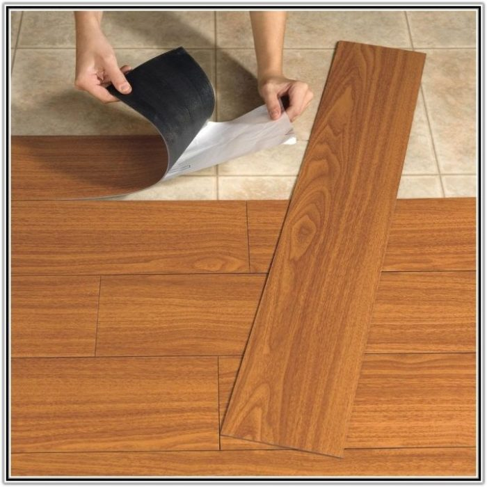 Self Adhesive Vinyl Floor Tiles Home Depot