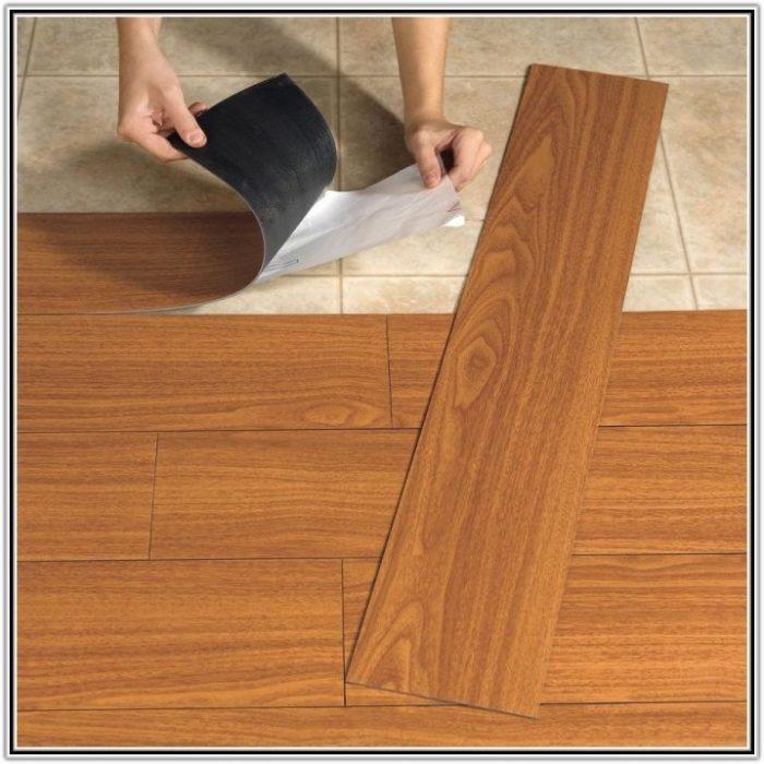 Self Adhesive Vinyl Floor Tiles Home Depot