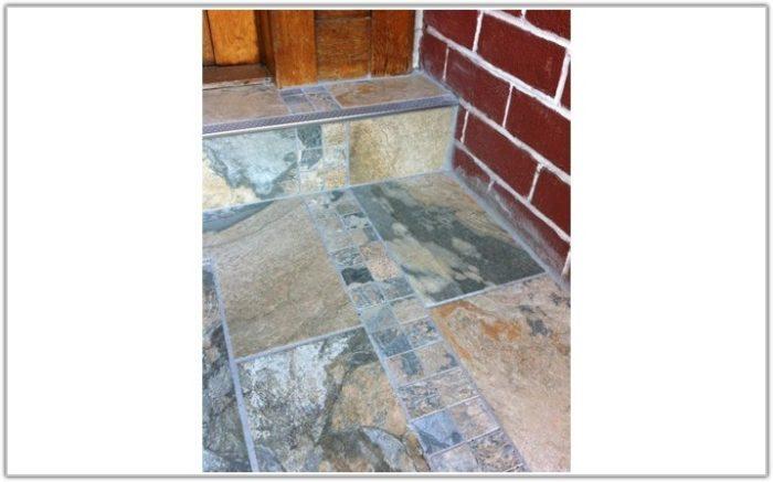 Slate Grey Kitchen Floor Tiles
