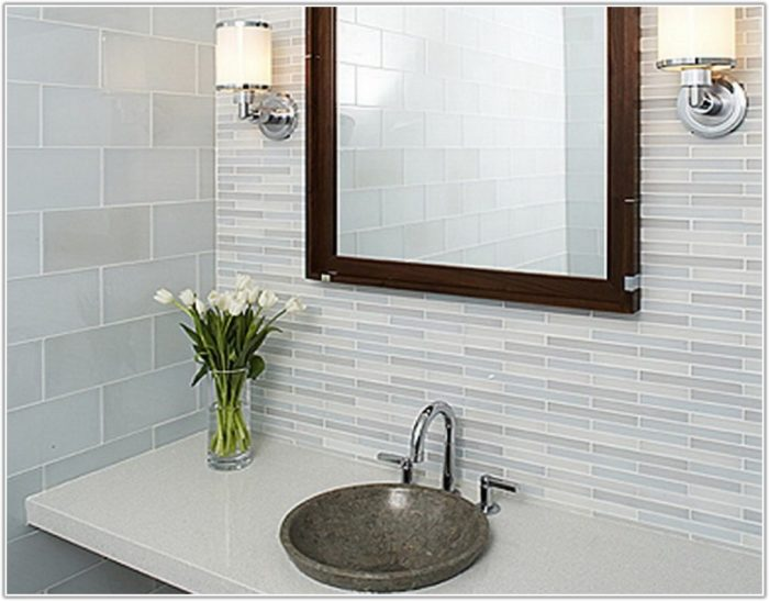 Small Bathroom Tile Wall Ideas