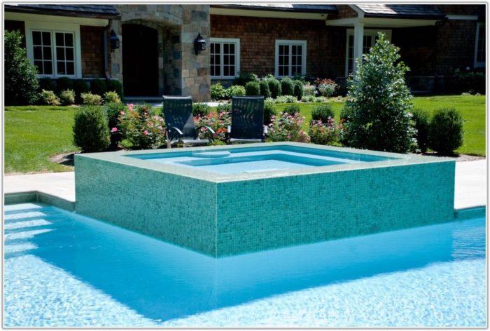 Swimming Pool Glass Tile Design