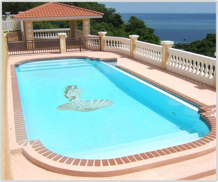 Swimming Pool Mosaic Tile Designs