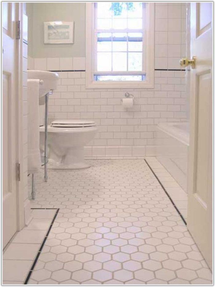 Tile Floor For Small Bathroom