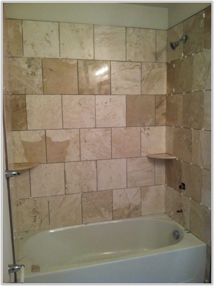 Tile Layout Patterns For Small Bathroom