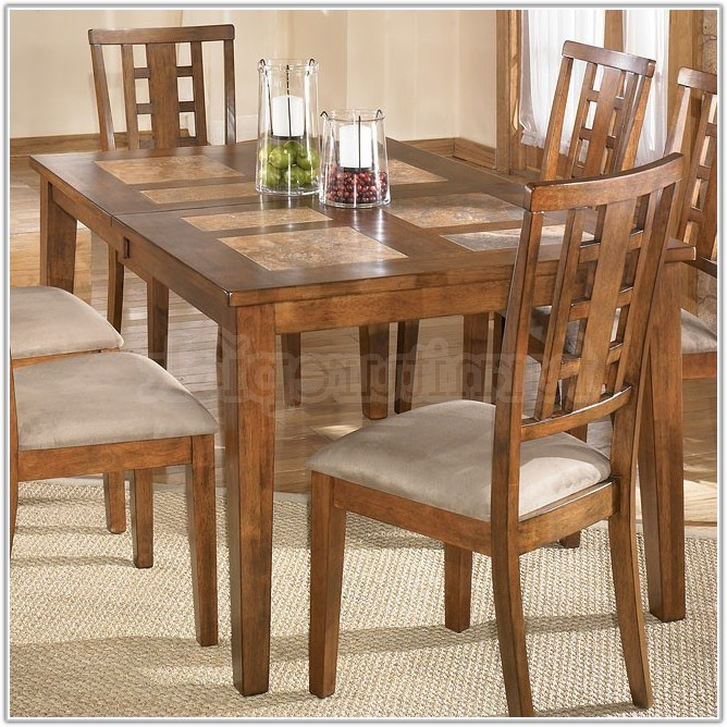Tile Top Dining Table Set