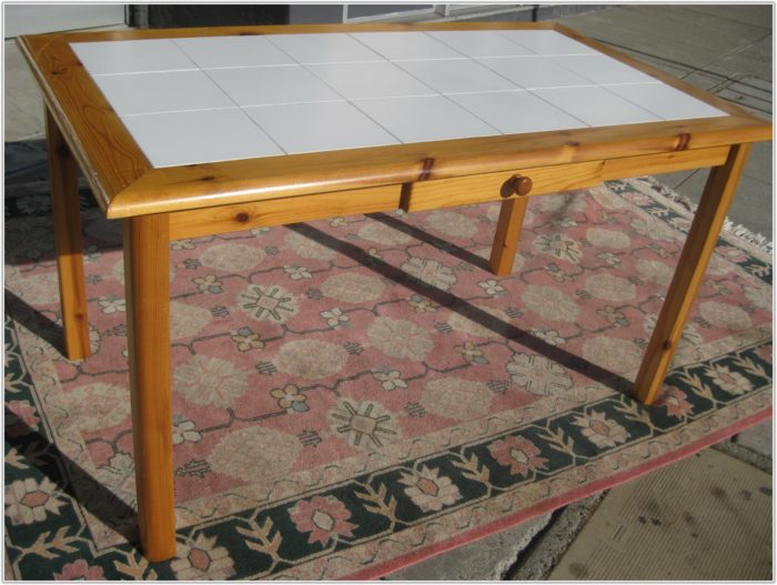 Tile Top Dining Table Uk