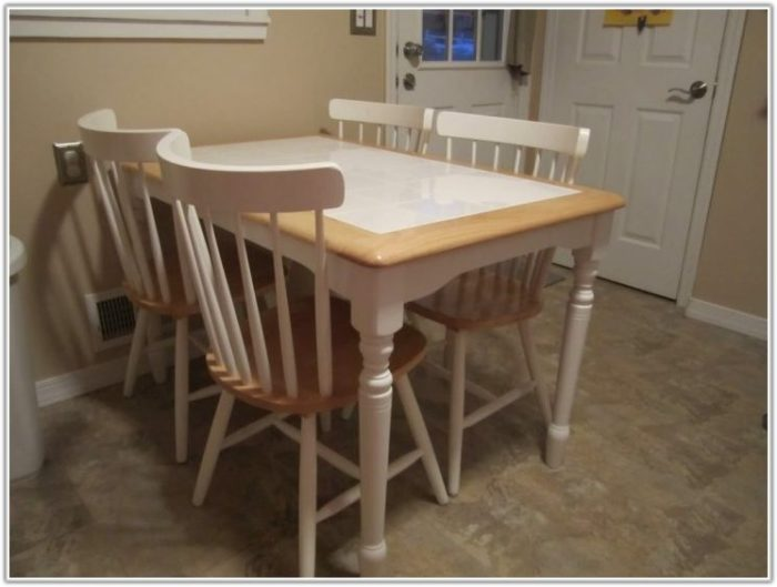 Tile Top Kitchen Table Sets