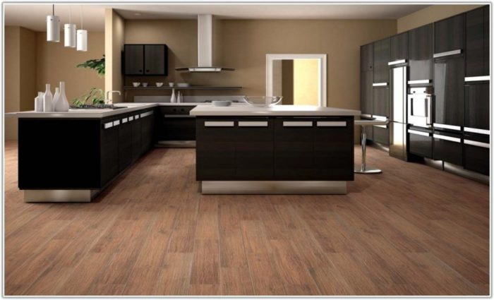 Tile Versus Wood Flooring In Kitchen