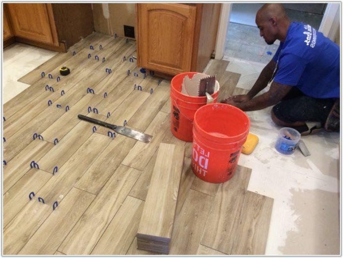 Tiles Look Like Wooden Floors