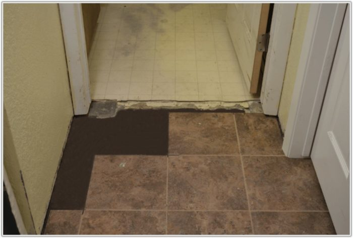 Vinyl Floor Tile Brick Pattern