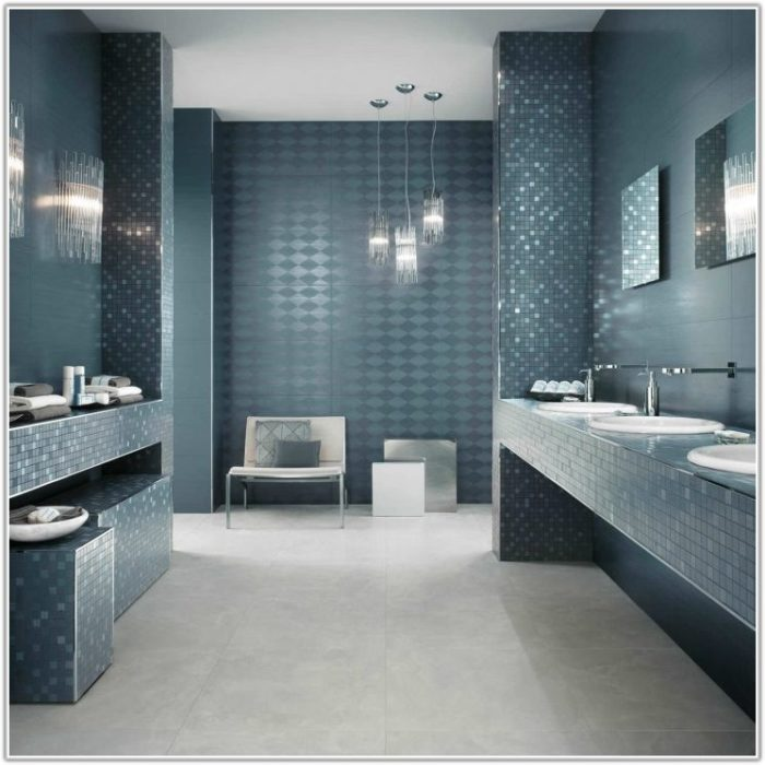 Wall And Floor Tiles Color Combination