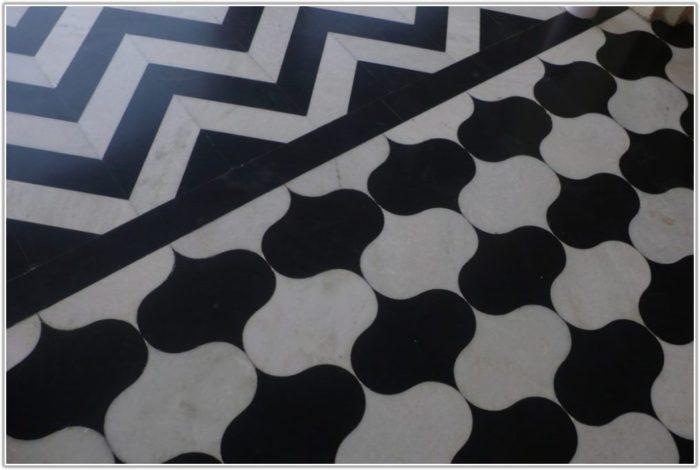 White Marble Floor Tiles Large