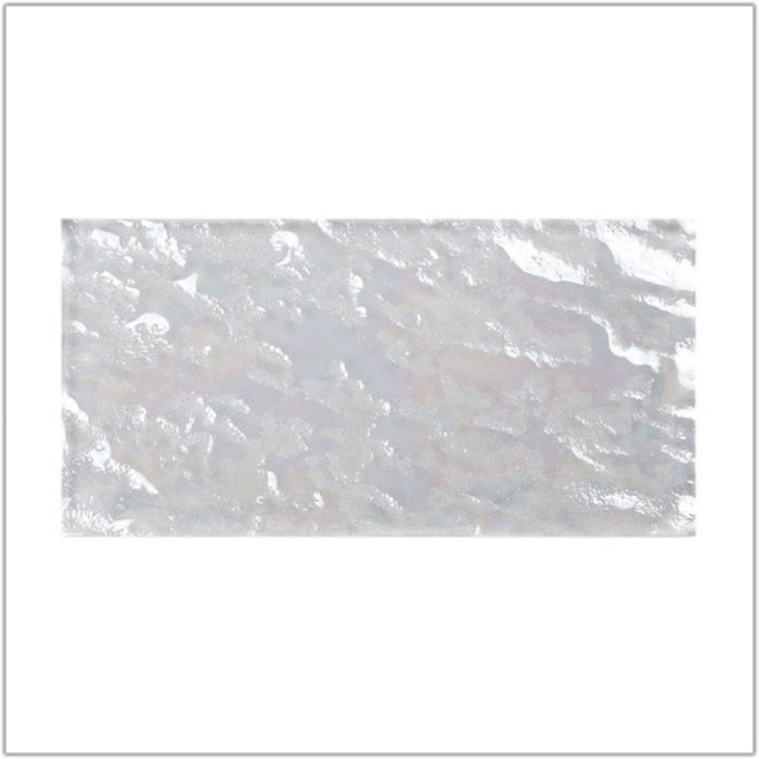White Subway Tile With Bright White Grout