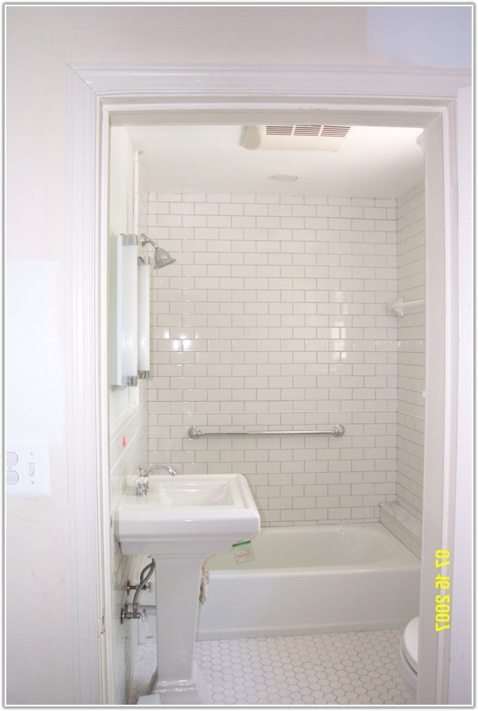 White Tile In Bathroom Ideas