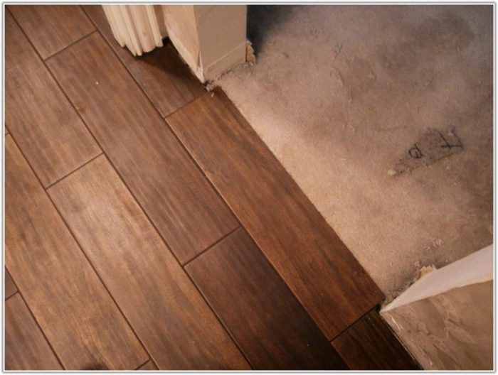 Wood And Tile Flooring Together