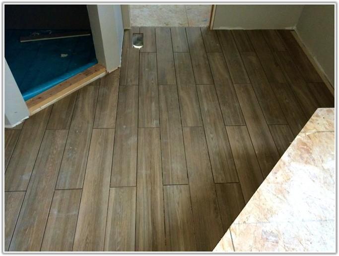 Wood Pattern Ceramic Floor Tile